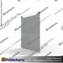 PORTA-GRAFICA-ACRILICO-A4-FORMATO-MURO-VERTICAL-2MM---SET-EMBELLECEDORES