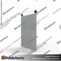 PORTA-GRAFICA-ACRILICO-A5-FORMATO-MURO-VERTICAL-2MM---SET-EMBELLECEDORES